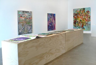 Paintings at ACME GALLERY 2014